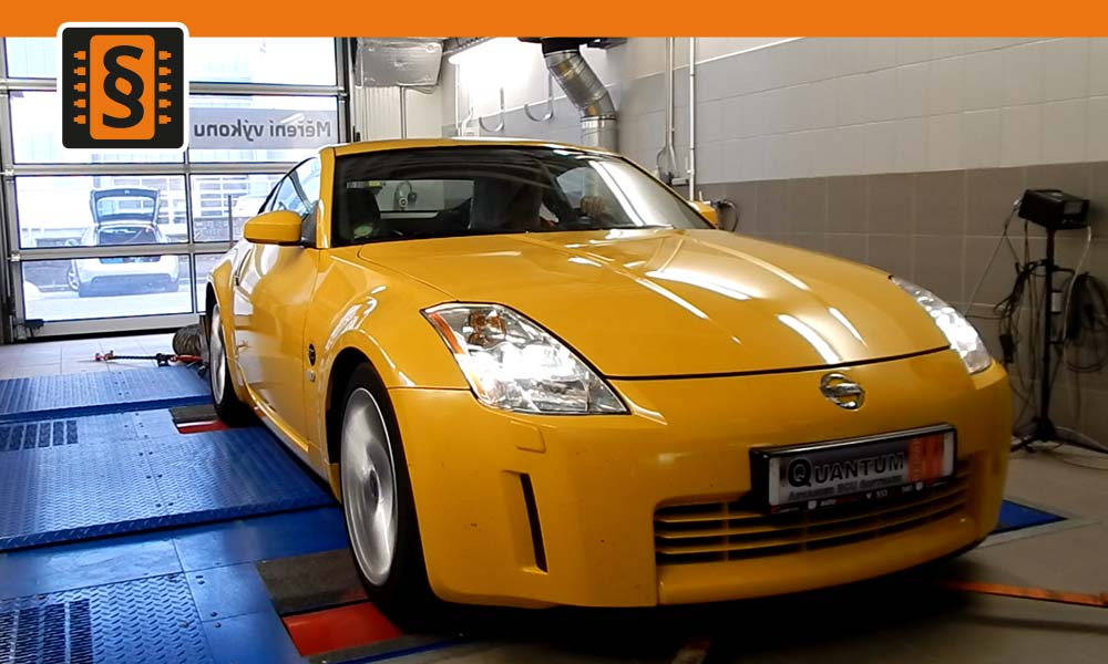 Měření výkonu - Nissan 350Z