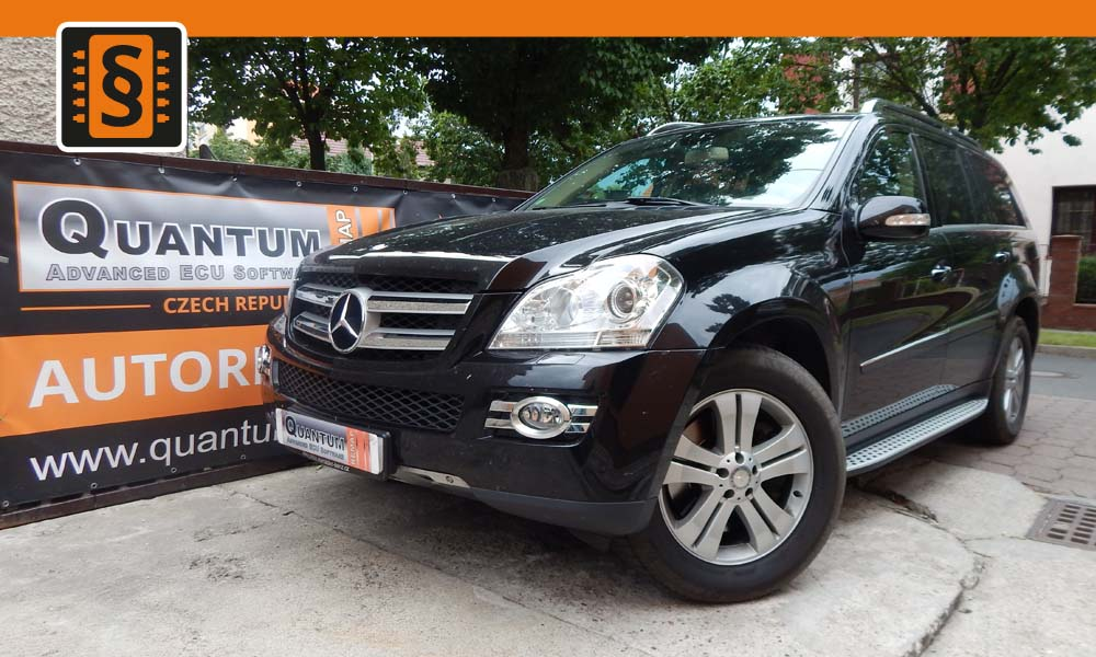 Reference Quantum Praha Chiptuning Mercedes GL 420cdi 225kw