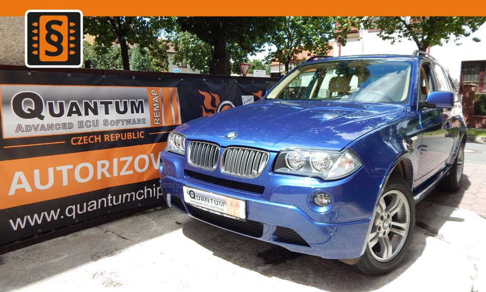 Reference Quantum Praha Chiptuning Bmw X3 2.5Si 160kw