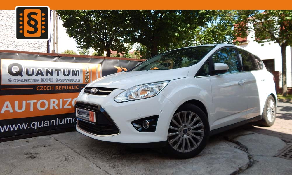 Reference Quantum Praha Chiptuning Ford C-Max 1.6 Ecoboost 110kW