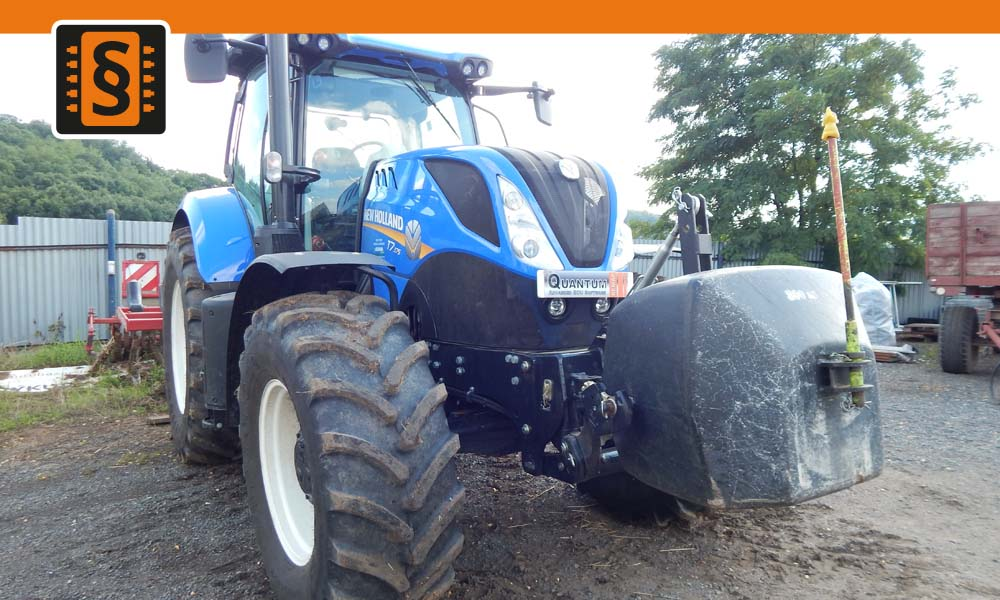 Reference Teplice Chiptuning New Holland T7