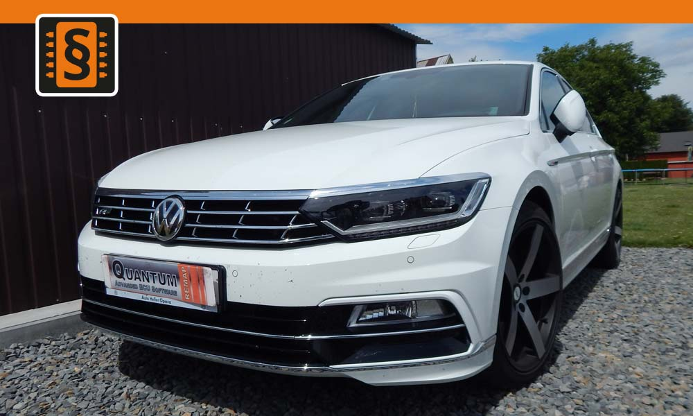 Reference Opava Chiptuning VW Passat R-line 2.0TSi