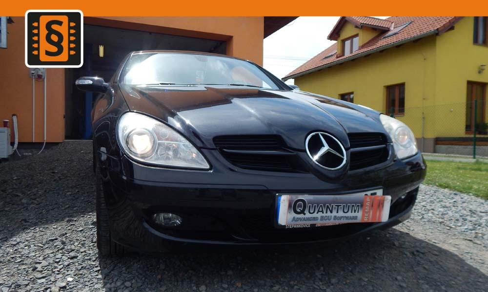 Reference Ostrava Chiptuning Mercedes SLK 200