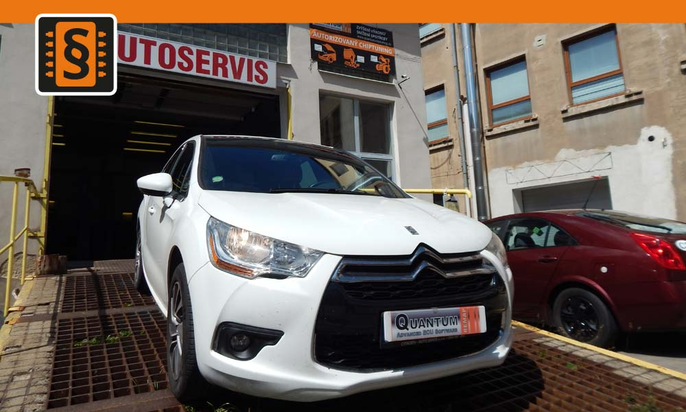 Reference Jihlava Chiptuning Citroen DS4 1.6VTi 88kw