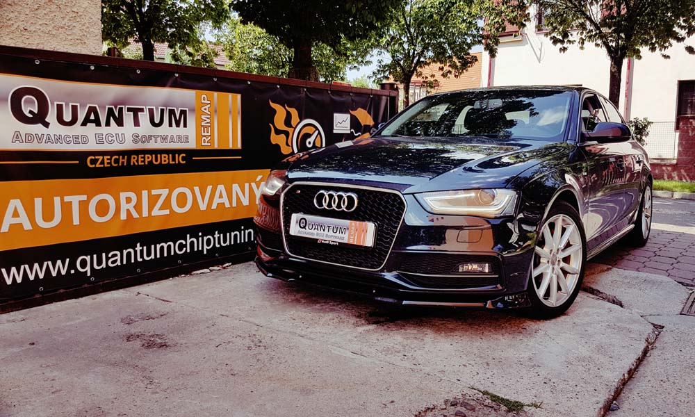 Reference Praha Chiptuning Audi A4 2.0TFSi 2015 162kW