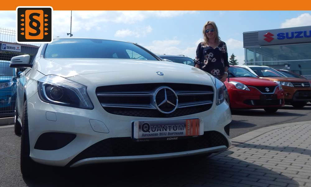 Reference Olomouc Chiptuning Mercedes A-class 180 90kw