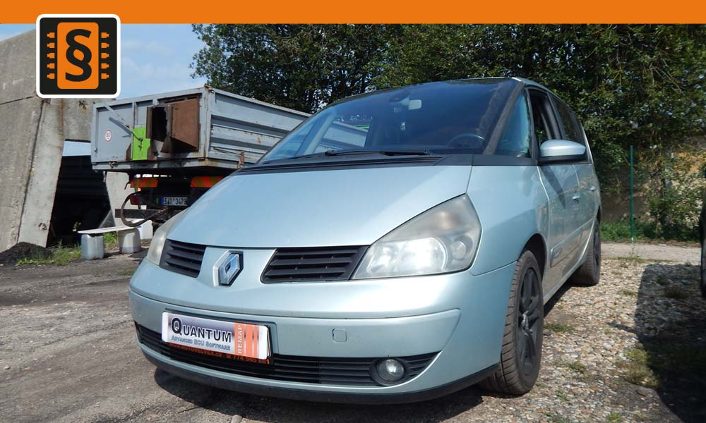 Reference Quantum Litoměřice Chiptuning Renault Espace 2.2dCi