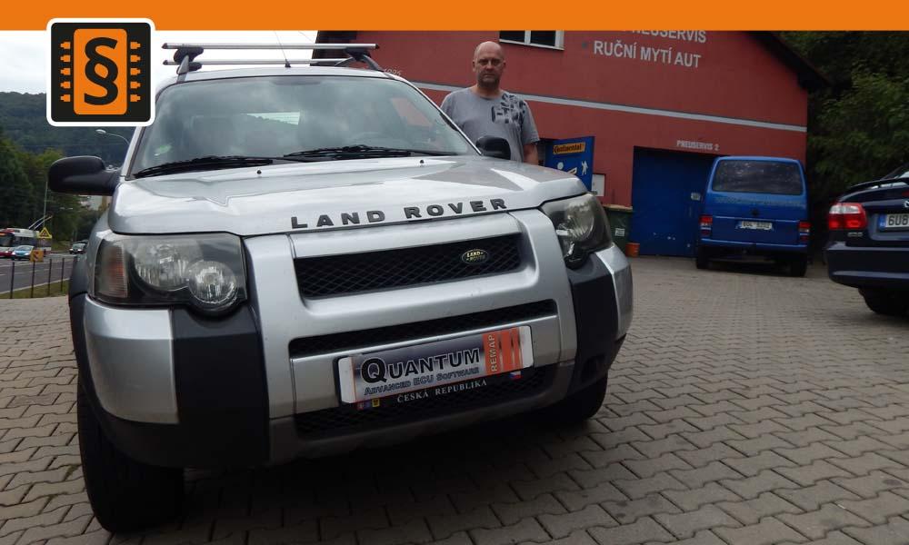 Reference Ústí nad Labem Chiptuning Land Rover Freelander 2.0TD4 82kw
