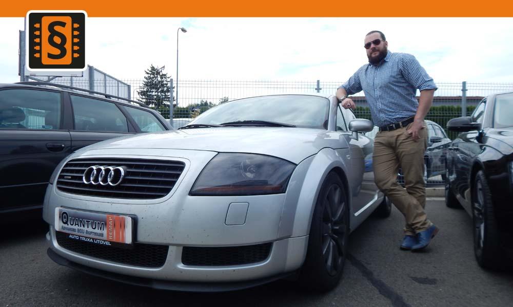 Reference Olomouc Chiptuning Audi TT 1.8T 132kW