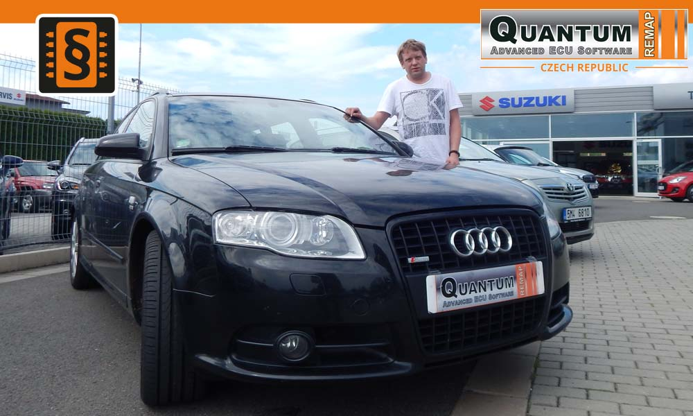 Reference Olomouc Chiptuning Audi A4 2.0TDi 140hp
