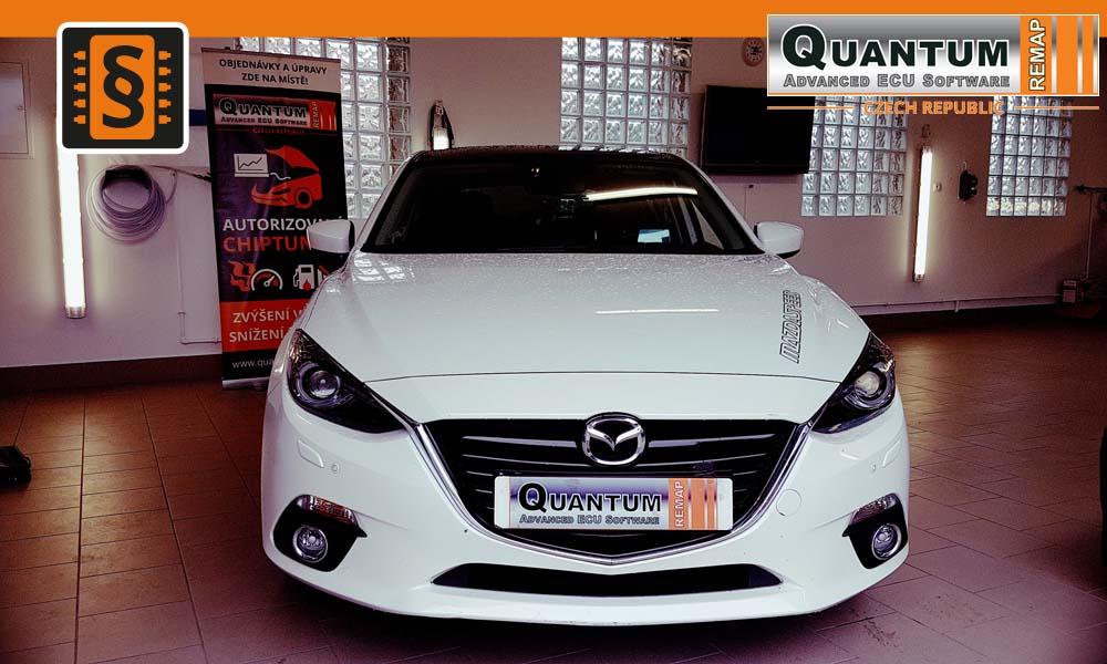 Reference Brno Chiptuning Mazda 3 2.0SkyActiv-G 120hp 88kw