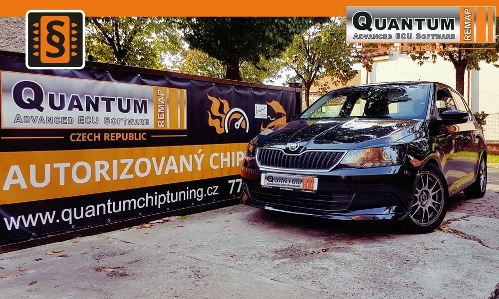 Reference Quantum Praha Chiptuning Škoda Fabia 1.2TSi 110hp