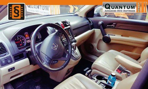 Reference Quantum Praha Chiptuning Honda C-RV 2.2 i-DTEC Interier