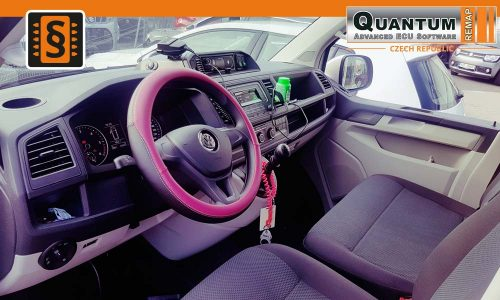 Reference Olomouc Chiptuning VW T6 Sanitka Dashboard