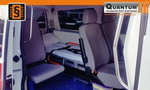 Reference Olomouc Chiptuning VW T6 Sanitka Interier