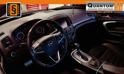 Reference Opava Chiptuning Opel Insignia 2.0CDTi BiTurbo Dashboard