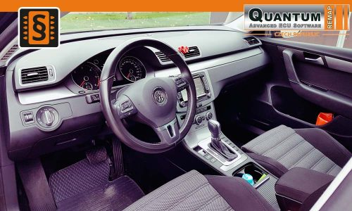 Reference Opava Chiptuning VW Passat B7 2.0TDi Interier