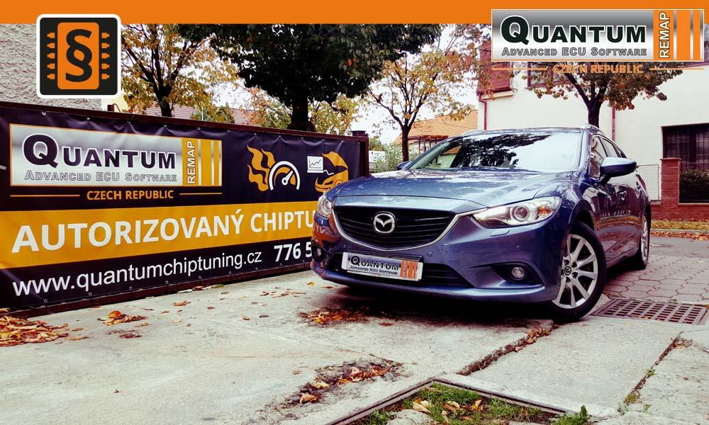 Reference Praha Chiptuning Mazda 6 2.2SkyActiv-D 110kw 150hp