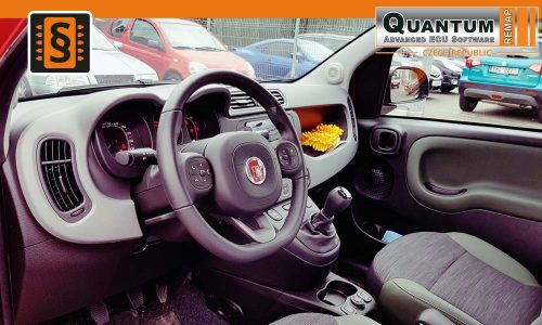 Reference Olomouc Chiptuning Fiat Panda 4x4 1.3MJET Interier