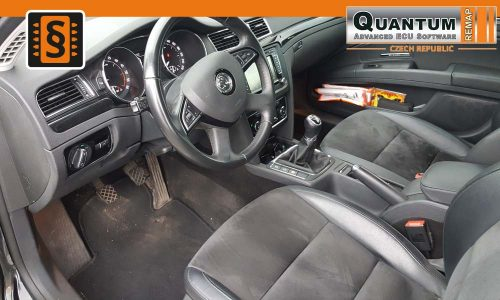 Reference Olomouc Chiptuning Škoda Superb II 2.0Tdi Interier
