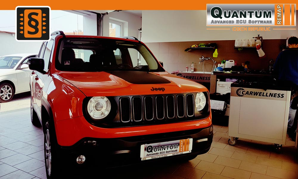 Reference Quantum Brno Chiptuning Jeep Renegade 2.0Mjet 125kW