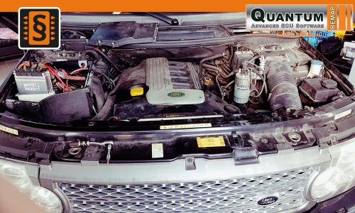 Reference Quantum Brno Chiptuning Land Rover Range Rover Engine