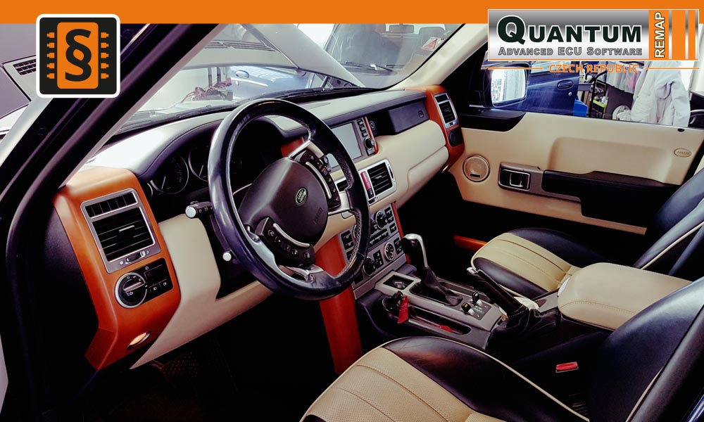 Reference Quantum Brno Chiptuning Land Rover Range Rover Interier