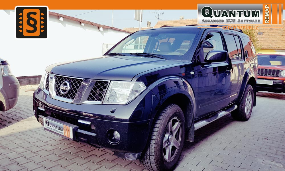 Reference Quantum Brno Chiptuning Nissan Pathfinder 2.5dCi 126kw