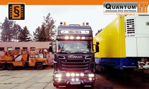 Reference Hradec Králové Chiptuning Scania R500 368kW
