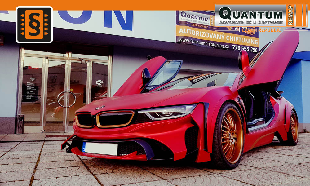 Reference Praha Chiptuning BMW i8 1.5 Turbo Hybrid EveRyn