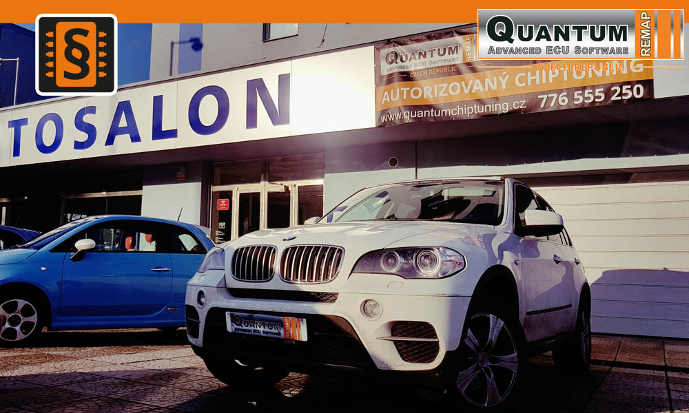 Reference Praha Chiptuning BMW X5 3.0D 180kW
