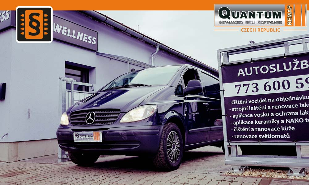 Reference Quantum Brno Chiptuning Mercedes Vito 111cdi 85kw