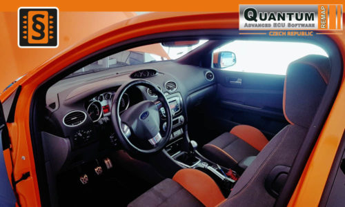 Reference Quantum Praha Chiptuning Ford Focus ST 2.5T Interier