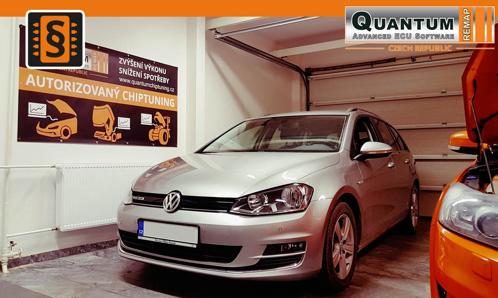Reference Quantum Praha Chiptuning VW Golf 1.4TGI 110hp