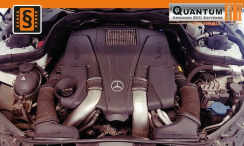 Reference Praha Chiptuning Mercedes E-Class 500 Engine