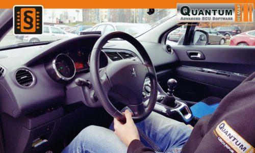 Reference Quantum Praha Chiptuning Peugeot 5008 1.6HDi Interier