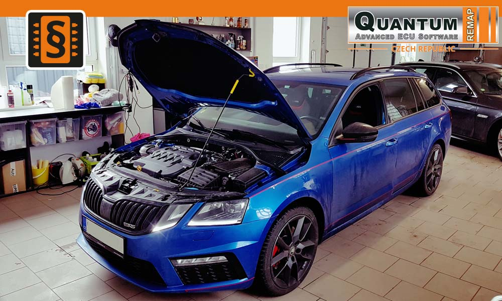 Reference Quantum Brno Chiptuning Škoda Octavia III RS 135kW