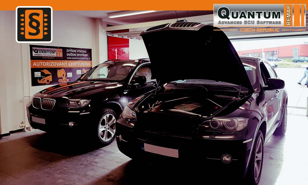 Reference Quantum Praha Chiptuning BMW X6 3.0D 173kW