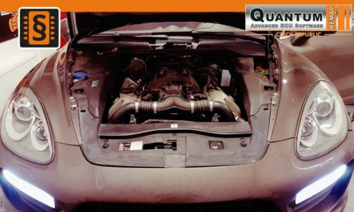 Reference Quantum Praha Chiptuning Porsche Cayenne 958 Engine 2