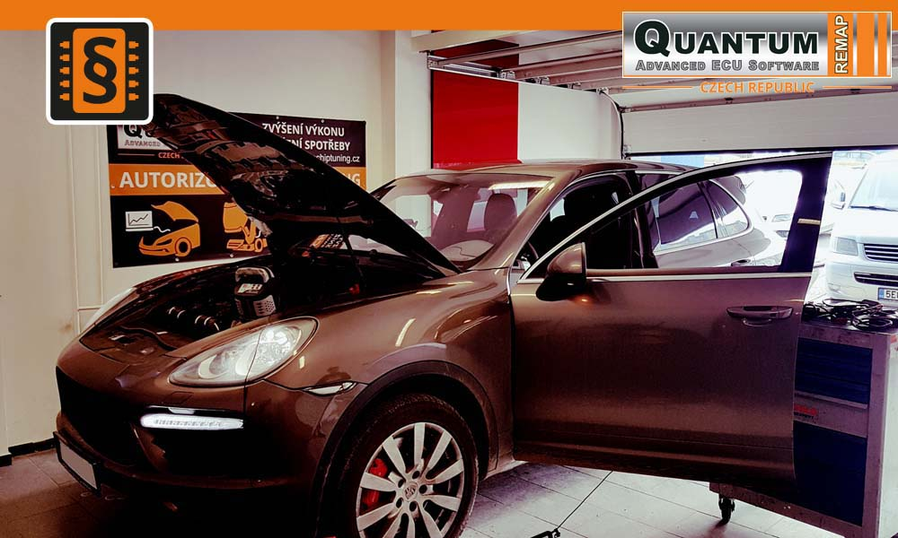 Reference Quantum Praha Chiptuning Porsche Cayenne 958 4.8Turbo 368kW