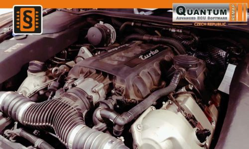 Reference Quantum Praha Chiptuning Porsche Cayenne 958 Engine