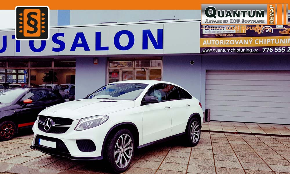 Reference Quantum Praha Chiptuning Mercedes-Benz GLE-class 400 245kW