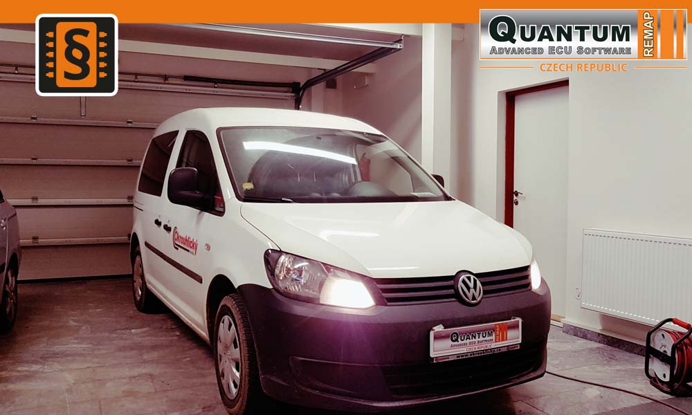 Reference Praha Chiptuning Volkswagen Caddy 1.6TDi 55kW