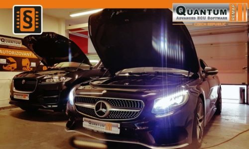 Reference Praha Chiptuning Mercedes S400 Coupe 270kw
