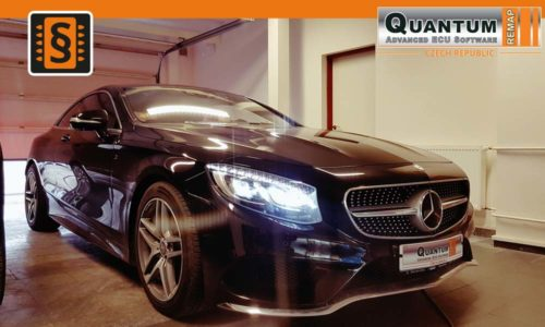 Reference Praha Chiptuning Mercedes S400 Coupe 4MATIC