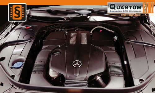 Reference Praha Chiptuning Mercedes S400 Coupe Engine