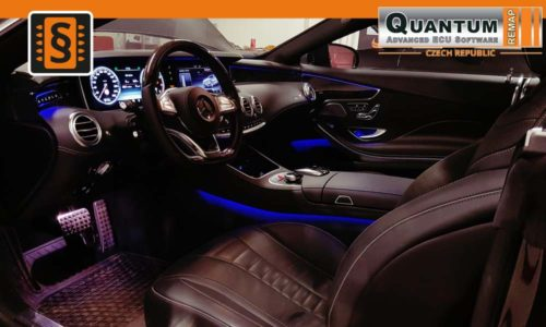 Reference Praha Chiptuning Mercedes S400 Coupe Interier