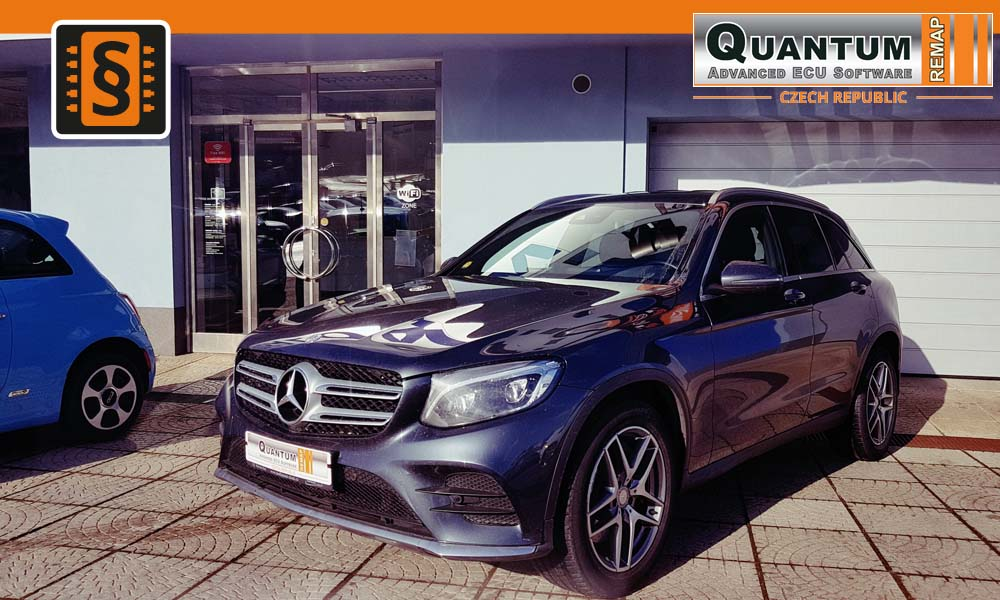Reference Praha Chiptuning Mercedes GLC-class 220CDi 125kW