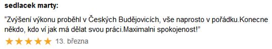 Chiptuning recenze Márty - Mercedes B-class Č. Budějovice