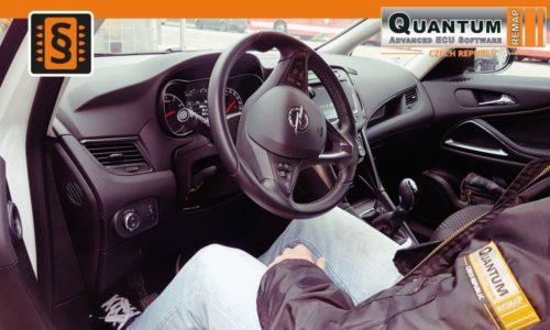 Reference České Budějovice Chiptuning Opel Zafira 1.4 Turbo Interier